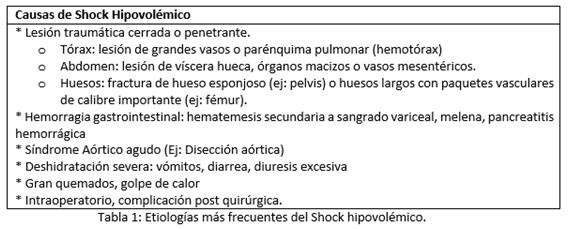 Indice de choque en obstetricia